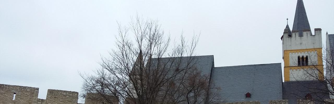Burgkirche-Ingelheim @eigenes Foto